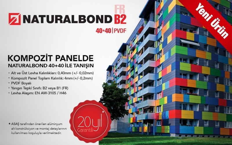 Naturalbond kompozit panel